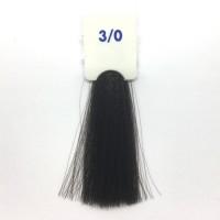 Crema Colorante INEBRYA Bionic Color senza ammoniaca Professionale Permanente 3.0 Castano Scuro