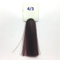 Crema Colorante INEBRYA Bionic Color senza ammoniaca Professionale Permanente 4.5 Castano Mogano