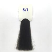 Crema Colorante INEBRYA Bionic Color senza ammoniaca Professionale Permanente 5.1 Castano Chiaro Cenere