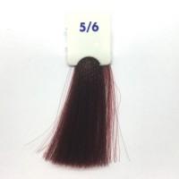 Crema Colorante INEBRYA Bionic Color senza ammoniaca Professionale Permanente 5.6 Castano Chiaro Rosso