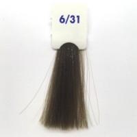 Crema Colorante INEBRYA Bionic Color senza ammoniaca Professionale Permanente 6.31 Biondo Scuro Sabbia