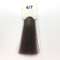 Crema Colorante INEBRYA Bionic Color senza ammoniaca Professionale Permanente 6.7 Cioccolato Fondente