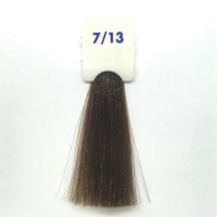Crema Colorante INEBRYA Bionic Color senza ammoniaca Professionale Permanente 7.13 Biondo Beige