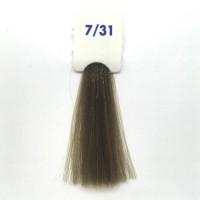 Crema Colorante INEBRYA Bionic Color senza ammoniaca Professionale Permanente 7.31 Biondo Sabbia