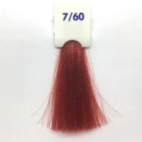 Crema Colorante INEBRYA Bionic Color senza ammoniaca Professionale Permanente 7.60 Biondo Rosso Caldo