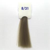 Crema Colorante INEBRYA Bionic Color senza ammoniaca Professionale Permanente 8.31 Biondo Chiaro Sabbia