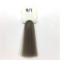 Crema Colorante INEBRYA Bionic Color senza ammoniaca Professionale Permanente 9.1 Biondo Chiarissimo Cenere